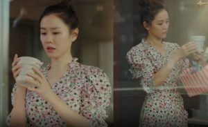 Son Ye Jin's Flower Dress in 'Crash Landing On You'