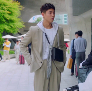 Park Bo Gum cross Bag in Record of Youth