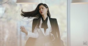 Seo Ji Hye two-piece in Crash Landing on You, Michael Kors